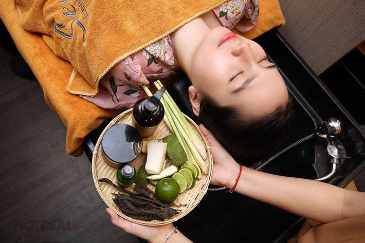Phụ nữ Việt Nam xưa đã biết sử dụng các loại cây cỏ thiên nhiên để gội đầu và chăm sóc tóc