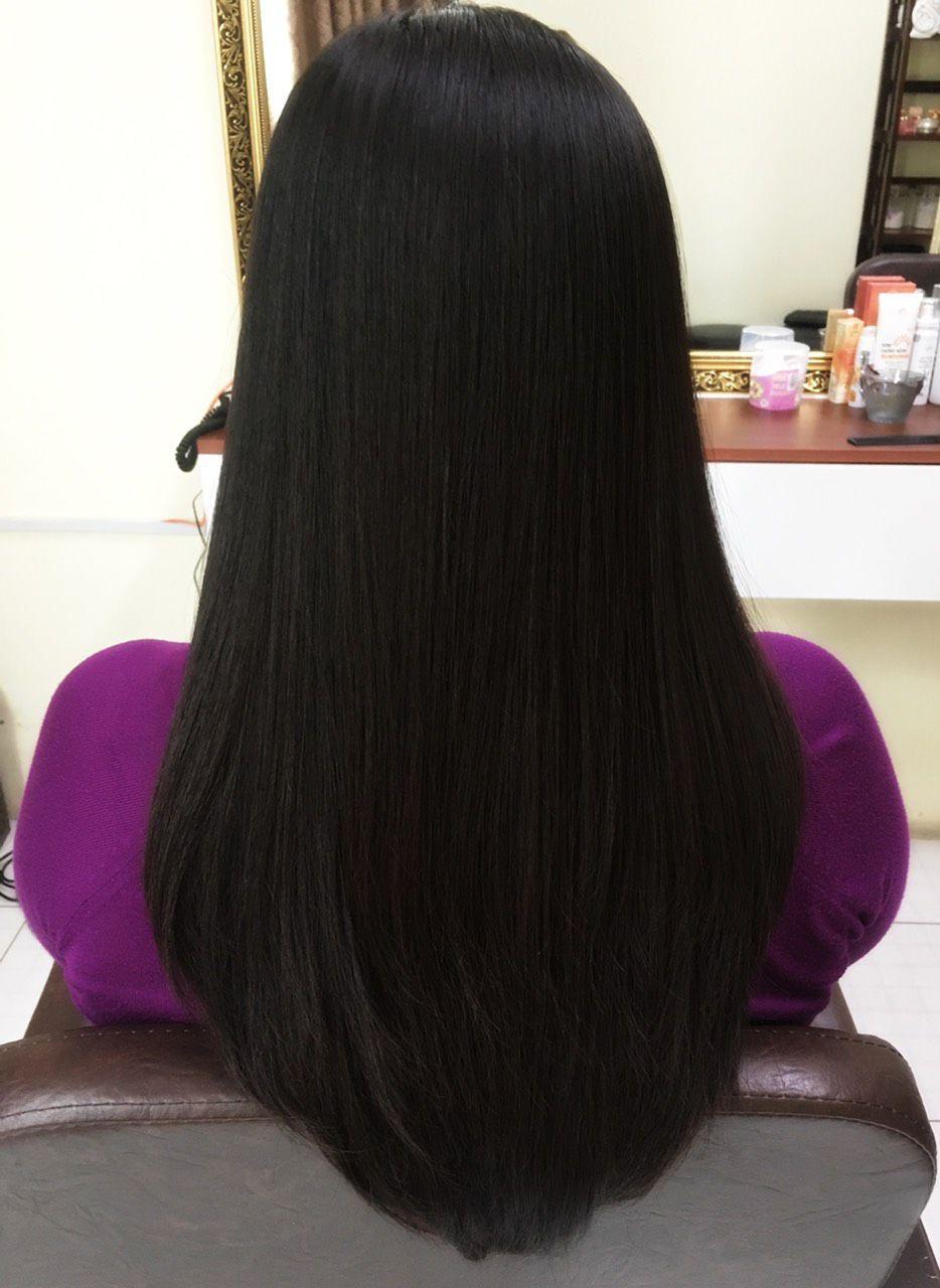 Công nghệ phục hồi tóc Nano của Phấn Nụ Hoàng Cung giúp mái tóc mềm mại, suôn mượt
